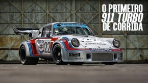 Carrera RSR 2.1 Turbo: este foi o primeiro Porsche 911 de corrida turbinado da história