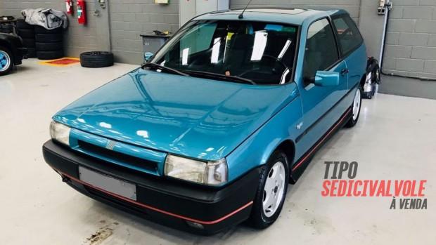Este Fiat Tipo Sedicivalvole muito inteiro e original está à venda