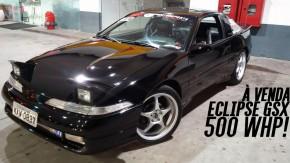 Este Mitsubishi Eclipse GSX Turbo tem 500 cv nas rodas e está à venda. Vai encarar?