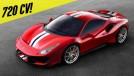 Ferrari 488 Pista: com 720 cv, ela tem o motor V8 mais potente na história da marca