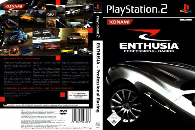 Enthusia Professional Racing GERMAN PAL COVER