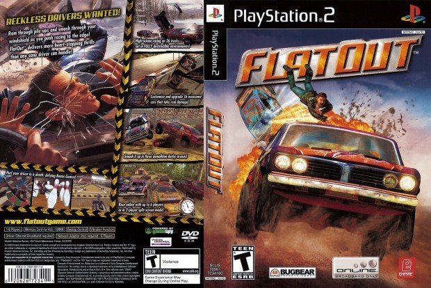 FlatOut - PS2 [endps2games]