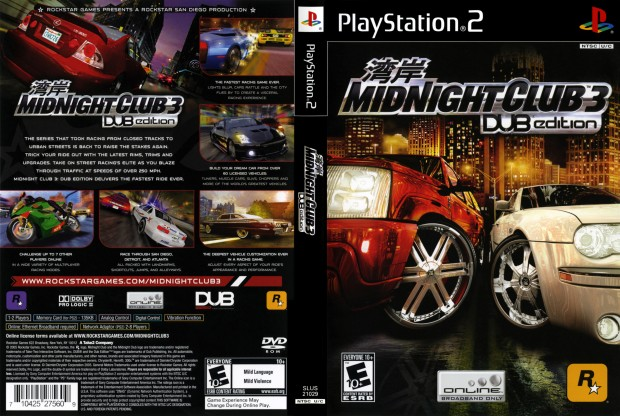 Midnight Club Racing 3 DUB Edition