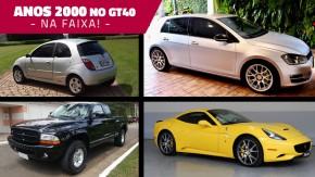 Aos fãs dos carros contemporâneos: semana dos anos 2000 no GT40 – anuncie na faixa e veja essa seleção!