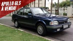 Quer um clássico brasileiro dos anos 90? Este VW Apollo GLS muito original está à venda