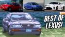 Os carros mais icônicos já fabricados pela… Lexus!