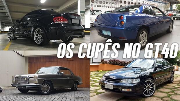 Conheça os cupês mais legais anunciados no GT40