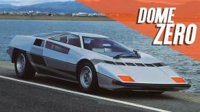 Dome Zero: quando os japoneses fizeram seu próprio supercarro em forma de cunha