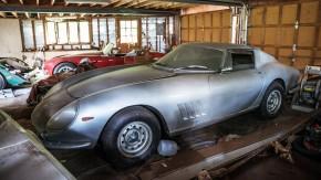 Uma Ferrari 275 GTB e um Shelby Cobra 427 abandonados nos EUA: o primeiro grande barn find do ano