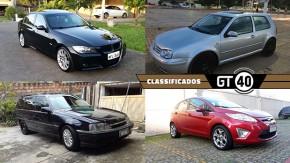 Um BMW seis-em-linha biturbo, um Golf GTI Mk4 duas-portas, uma Suprema seis-cilindros e mais no GT40