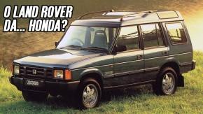 Honda Crossroad: quando o Land Rover Discovery virou um SUV japonês