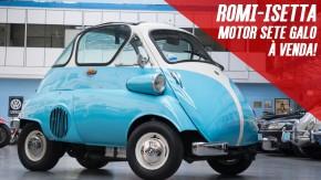 O ronco deste Romi-Isetta com motor de Honda CB 750 Four deve ser incrível – e ele está à venda!