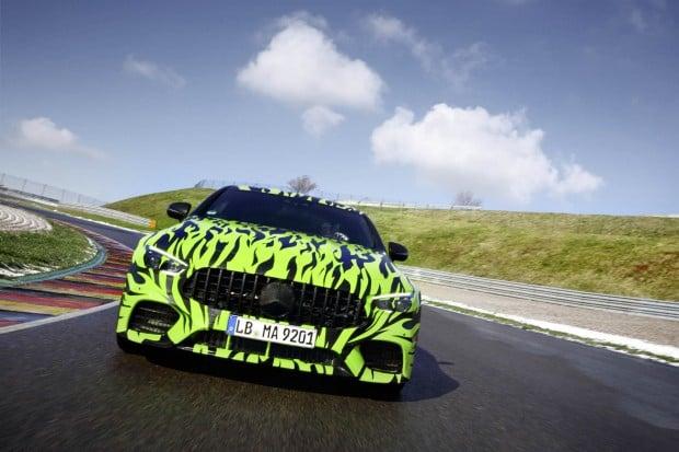 Four-door Mercedes-AMG GT Coupe Teaser