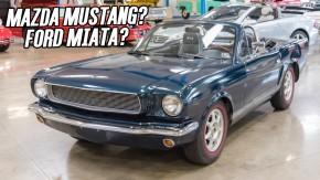 Quem transformou este Mazda MX-5 em um Mustang? E por que alguém faria uma coisa dessas?