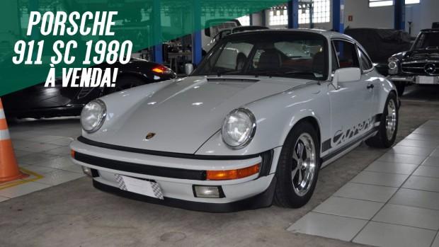 Um Porsche 911 SC aircooled muito bonito e original à venda no Brasil
