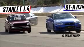 """E se a Toyota fizesse um Chevette hatch? Bem, eles """"fizeram"""": eis o Starlet KP61"""