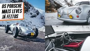 Estes são os cinco carros mais leves que a Porsche já fez – segundo a própria Porsche