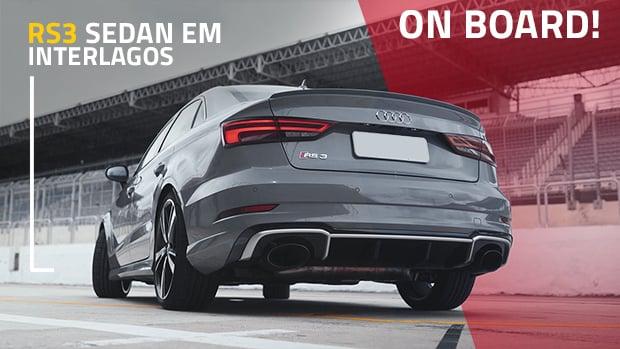 Teste Audi RS3 Sedan: aceleramos o cinco-em-linha de 400 cv em Interlagos!