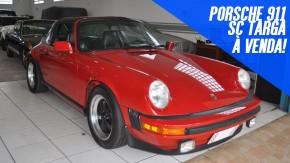 Um Porsche 911 aircooled para curtir a céu aberto: este Targa 1978 está à venda
