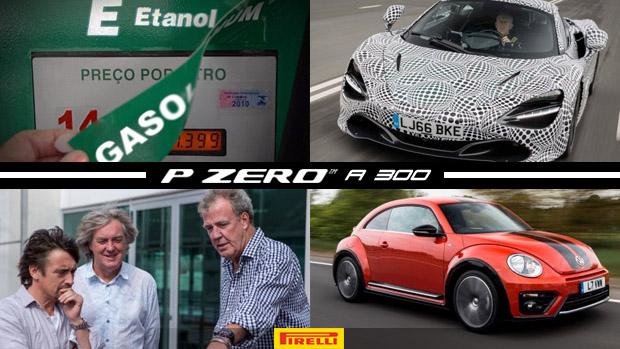 Governo pode aumentar (ainda mais) mistura de etanol à gasolina, sucessor do McLaren F1 irá além dos 392 km/h, o possível fim de The Grand Tour e mais!