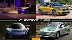 Carro autônomo atropela e mata ciclista nos EUA, Toyota apresenta Prius flex, BMW X2 começa a ser vendido no Brasil e mais!