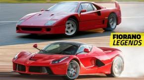 Estas são as Ferrari mais rápidas na pista de testes de Fiorano