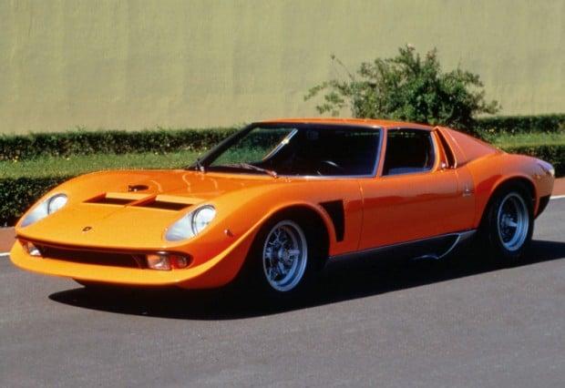 1971 Lamborghini Miura P400 SVJ