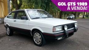 """À venda: não está fácil encontrar um VW Gol GTS 1989 """"frente alta"""" original como este"""