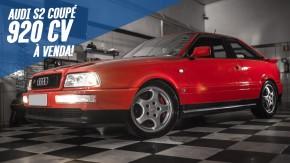 O Audi S2 Coupé de 920 cv e 316 km/h da Motorfort está à venda