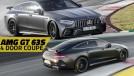 AMG GT 4 portas: a Mercedes aponta suas armas para o Porsche Panamera