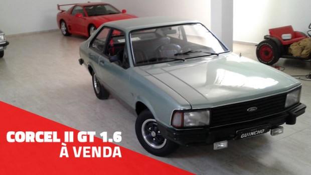 Este raro Corcel II GT original e bem cuidado está à venda