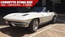 Este bonito Corvette Sting Ray 1963 conversível está à venda!