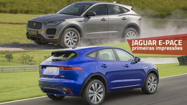 Jaguar E-Pace: aceleramos o primeiro SUV compacto da marca britânica