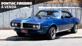 Este Pontiac Firebird 400 1968 com câmbio manual está à venda no Brasil!