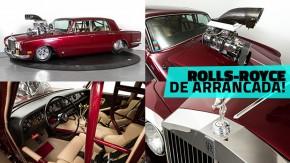 Quando finlandeses malucos transformaram um Rolls-Royce Silver Shadow em um carro de arrancada de luxo