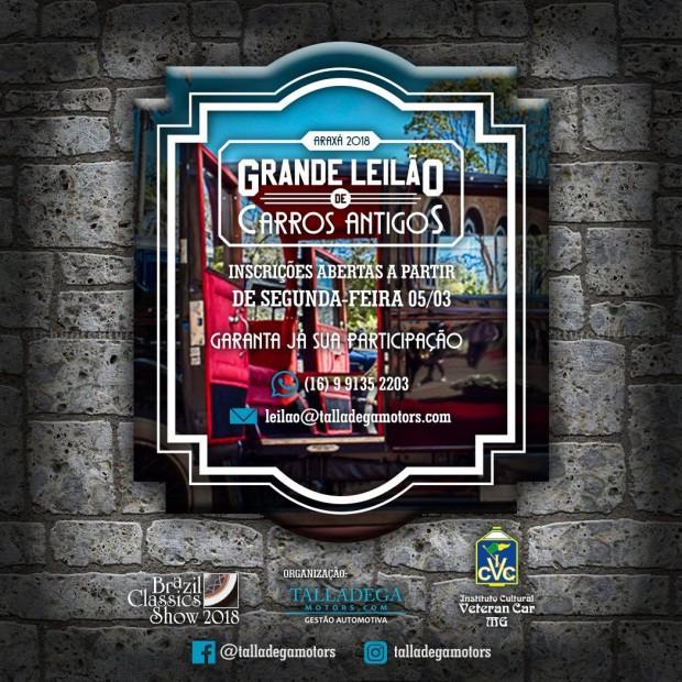 Leilao_Brazil Classics Show