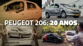 Top Gear recria o comercial do Peugeot 206 para comemorar os 20 anos modelo