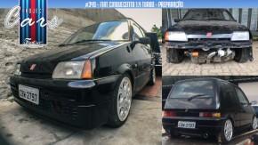 Project Cars #349: o 1.4 turbo já está no cofre do Fiat Cinquecento