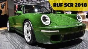 """Ruf SCR 2018: o novo """"super 911"""" de fibra de carbono e inox com motor de 510 cv dá as caras em Genebra"""
