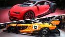 Os hipercarros de Genebra: Bugatti Chiron Sport e McLaren Senna GTR