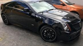 >>> Quando foi a última vez que você viu um Cadillac CTS-V Coupé a venda no Brasil?