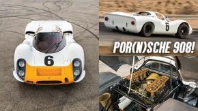 Porsche 908: quando um um boxer de seis cilindros não é o suficiente