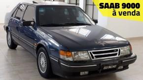 Um dos 34 Saab 9000 que rodam pelo Brasil está à venda