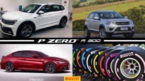 Tiguan R-Line com motor 2.0 TSI no Brasil, Alfa Romeo Giulia poderá ter versão cupê de 650 cv, Caoa se torna a nova marca dos Chery e mais!