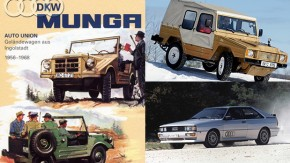 quattro: como DKW e Volkswagen deram origem ao sistema 4×4 da Audi