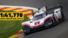 Porsche 919 Evo quebra recorde da F1 Spa-Francorchamps – e quer o recorde absoluto em Nürburgring