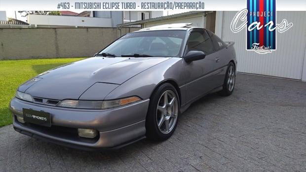 Project Cars #463: a história do meu Mitsubishi Eclipse Turbo 1991