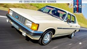 A história do meu Opala Standard com câmbio manual na coluna, o Project Cars #481