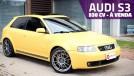 Este Audi S3 preparado com mais de 500 cv nas rodas está à venda – vai encarar?