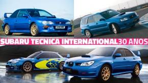 30 anos de STI: a história e os carros da Subaru Tecnica International
